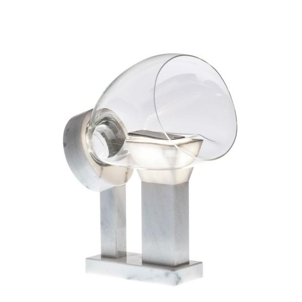 Carol Gay, S.O.M, vidro soprado amplifica som do celular, é original produzido artesanalmente