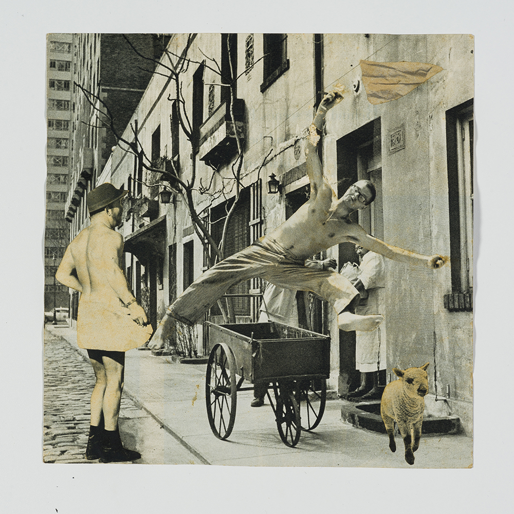 As fotomontagens representam um momento único na trajetória fascinante de Athos Bulcão