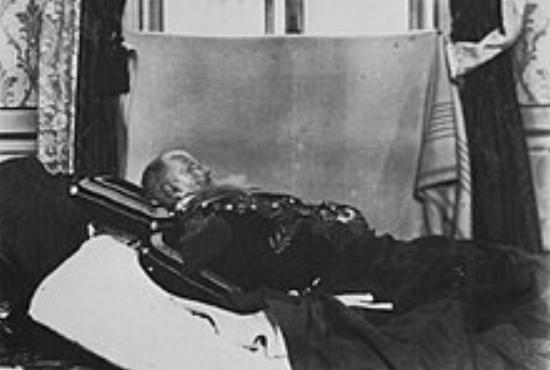Dom Pedro II, morte, Félix Nadar, 1891, fotografia