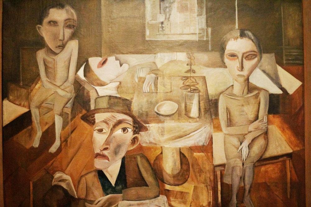 Lasar Segall, Família Enferma, 1920