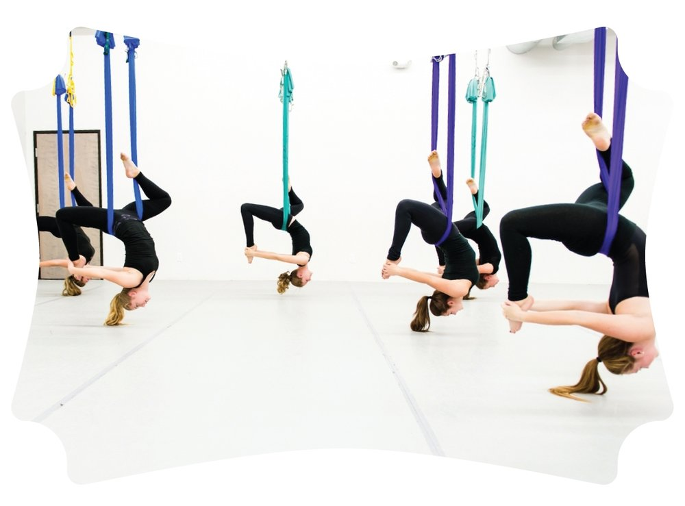 Aerial Yoga, Yoga Lounge Bournemouth