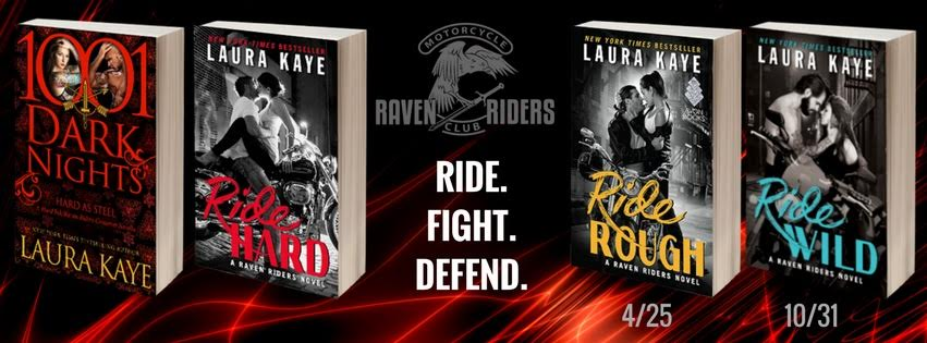 And don't miss all the books in the  Raven Riders Series !      HARD AS STEEL now available     RIDE HARD now available     RIDE ROUGH coming April 25th, 2017     RIDE WILD coming October 31st, 2017