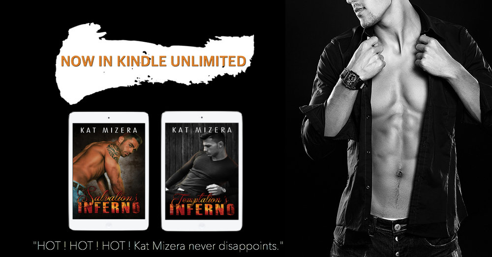 Start the series NOW! - BOTH BOOKS LIVE & FREE with  #KindleUnlimited !   Salvation's Inferno  ➤  Temptation's Inferno
