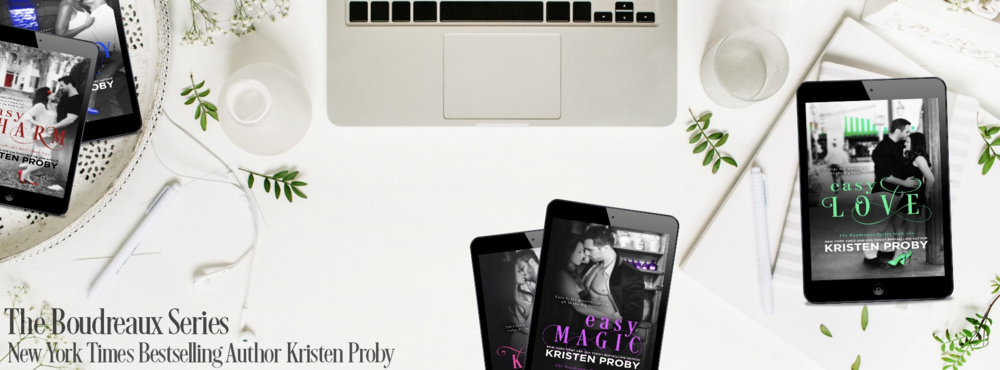 Don't forget to grab the first standalone books in The Boudreaux Series! EASY LOVE-FREE for a limited time only EASY CHARM-$.99 for a limited time only EASY MELODY-$1.99 for a limited time only EASY KISSES EASY FOR KEEPS: A Boudreaux Novella EASY MAGIC EASY NIGHTS-Coming June 27th! Preorder Now!