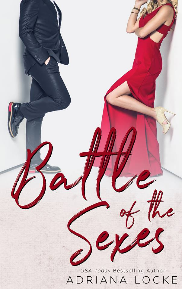 Battle of the SexesAdriana Locke    Carver Jones' partner at Jones + Gallum had to step down for medical reasons. He's absolutely devastated. He  swears . Just ignore his cheeky grin, okay?  When word reaches his fancy corner office that Gallum is replacing himself with his daughter, Amity, Carver is ecstatic.  For real this time.  Jones squashes men in the business industry flat. A woman? Pfst. He'll be completely in charge in no time, doing whatever he wants. He's  so  ready for this.  But is he ready to fight the hardest fight of his life? No, not the one to maintain control of his company. The one to keep control of his heart.  The battle may begin in the boardroom, but the war will definitely be won in the bedroom. May the best sex win.  Purchace Here: http://amzn.to/2szlBmy