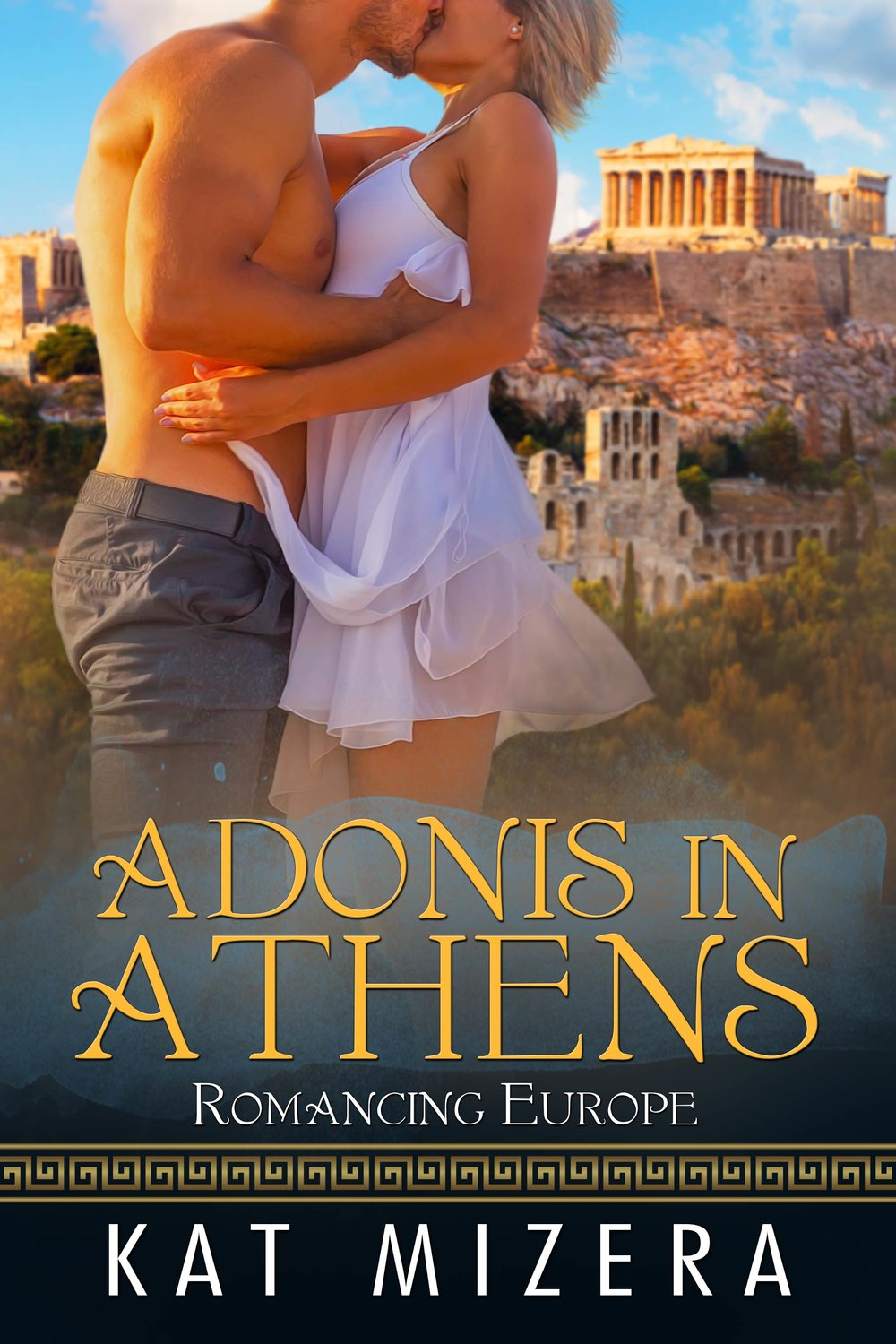 ONLY 99c FOR A LIMITED TIME!!   Amazon ~ iBooks ~ Nook  ~  Kobo     Paige Carter's fling with the dark-haired, green-eyed Greek was short, but it rocked her world. Her only regret was not finding out whether she'd ever see him again before he returned to Greece.  Apollo Lakkas earned his degree and was thrilled to return to Greece to begin work with his family's shipping business. His only regret is the way he left the sweet blonde he met in Vegas—who may or may not be his wife.  When an unexpected proposal throws Paige into a panic, she packs a bag for Athens and does the one thing she knows she must do before she can face any kind of future...reconcile her past.  The moment their eyes meet once again, Paige and Apollo feel the same spark that ignited them down the aisle. Will they be able to plan a future together or is their love destined to be nothing but a bittersweet memory?