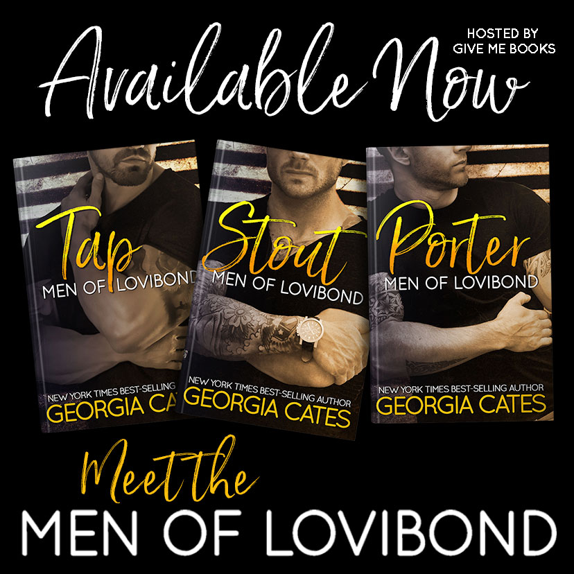 ALSO AVAILABLE IN THE MEN OF LOVIBOND SERIES  #1 Tap – 99c for a limited time! ~ Free in Kindle Unlimited Amazon US ~ Amazon UK ~ Amazon CA ~ Amazon AU   #2 Stout - $3.99 for a limited time! ~ Free in Kindle Unlimited Amazon US ~ Amazon UK ~ Amazon CA ~ Amazon AU