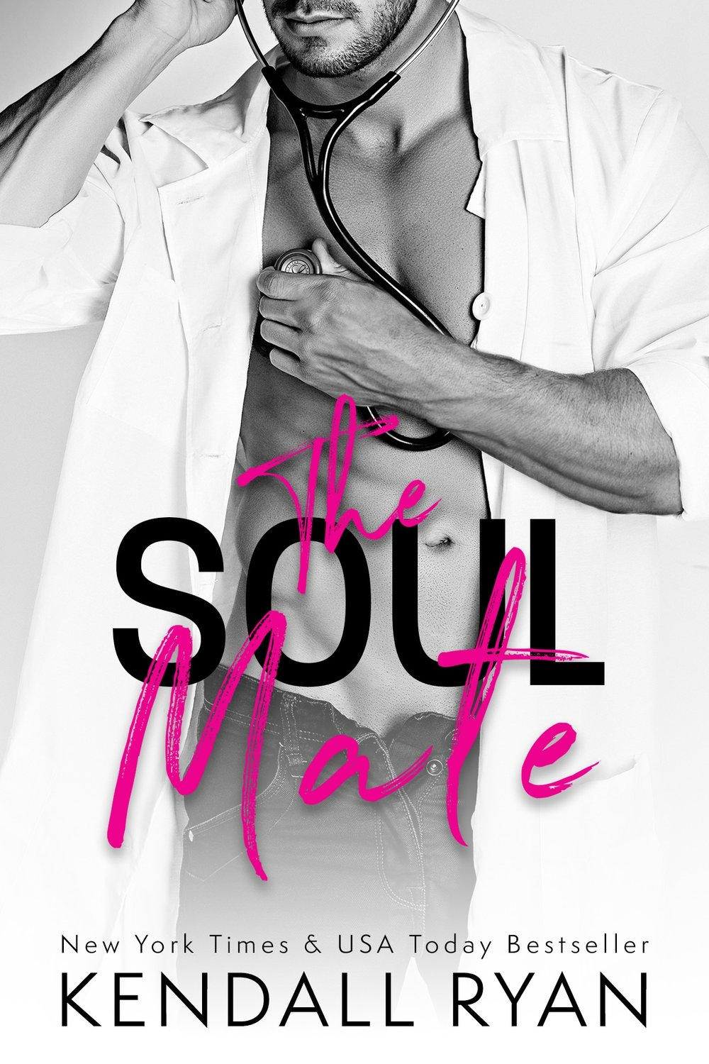 THE SOUL MATE    By Kendall Ryan    Release Day – August 14, 2017   From  New York Times Bestseller  Kendall Ryan comes a sexy new stand-alone novel in her Roommates series.  The smoking-hot one-night stand I was never supposed to see again?  Yeah, well, I might be pregnant, and he's my OB-GYN.   Get ready to fall head over heels madly in love with the hottest OBGYN doctor you have ever met! This full-length standalone contains the most hilariously awkward lady-doctor visit, lots of playful banter and some good ol' fashioned baby-makin'!   Goodreads:  goo.gl/vtN29n   Amazon:  http://amzn.to/2prMKrM   iBooks:  goo.gl/gdBF27   Nook:  https://goo.gl/WO2aco  Kobo:  https://goo.gl/mj7JCX