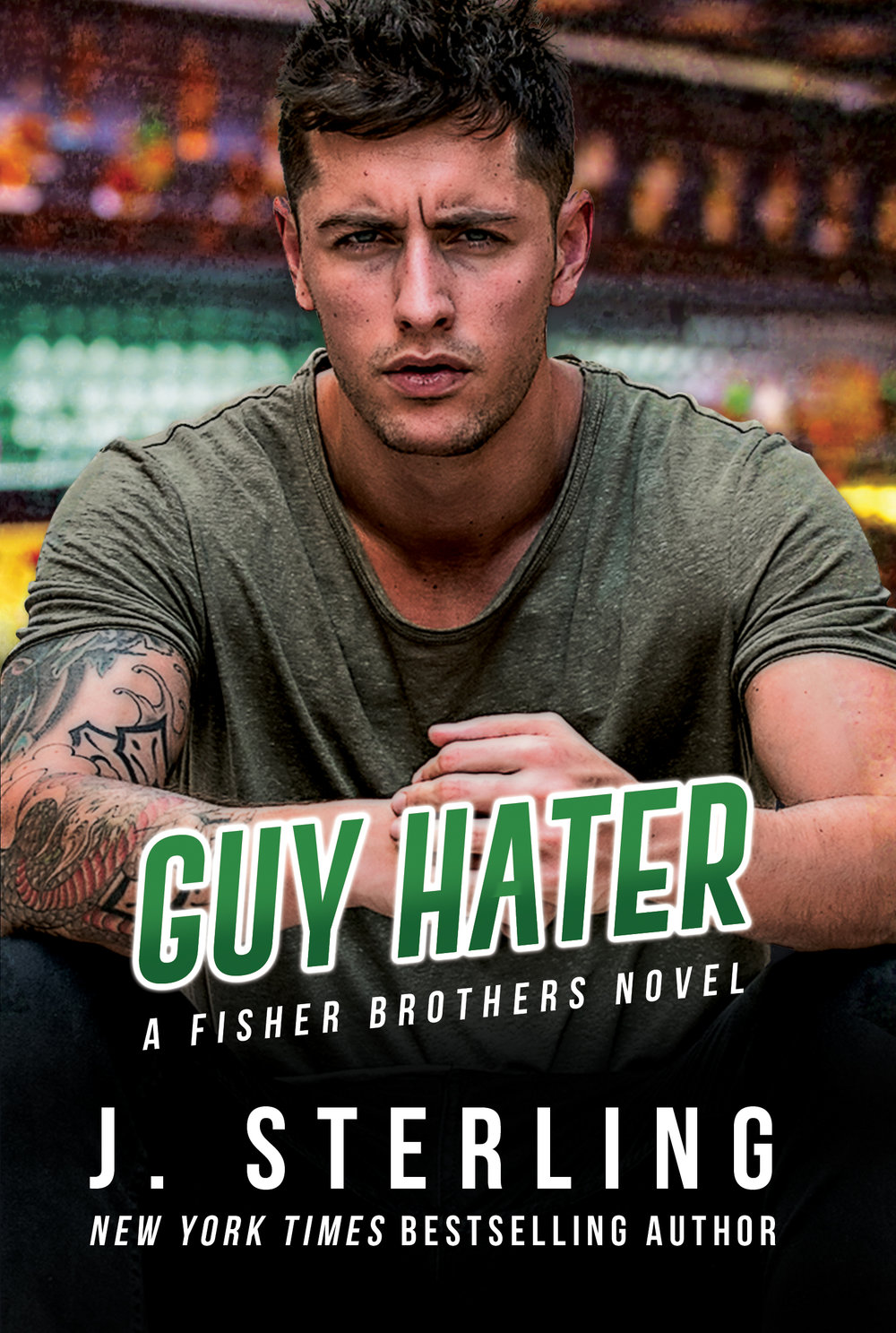 Guy Hater Synopsis: From New York Times Bestseller, J. Sterling, comes a sexy new STANDALONE romance novel. Frank Fisher is quiet, pensive, and sexy as hell. He's also stuck in a loveless relationship, bound by a promise he made years ago. It's one he intends to keep, no matter the cost. The night Claudia walks into his bar, both his life and his perspective are forever changed. She's feisty, strong, independent and everything he never knew he needed. She's also everything he never knew he wanted, and now he's torn. Will Frank follow his heart, or will guilt and obligation continue to rule his life? Choices aren't always easy, especially when you're a man, and Frank's indecision may cost him more than he's willing to lose. Buy Links: Amazon US ~ Amazon UK  ~ Amazon AU  ~ Amazon CA