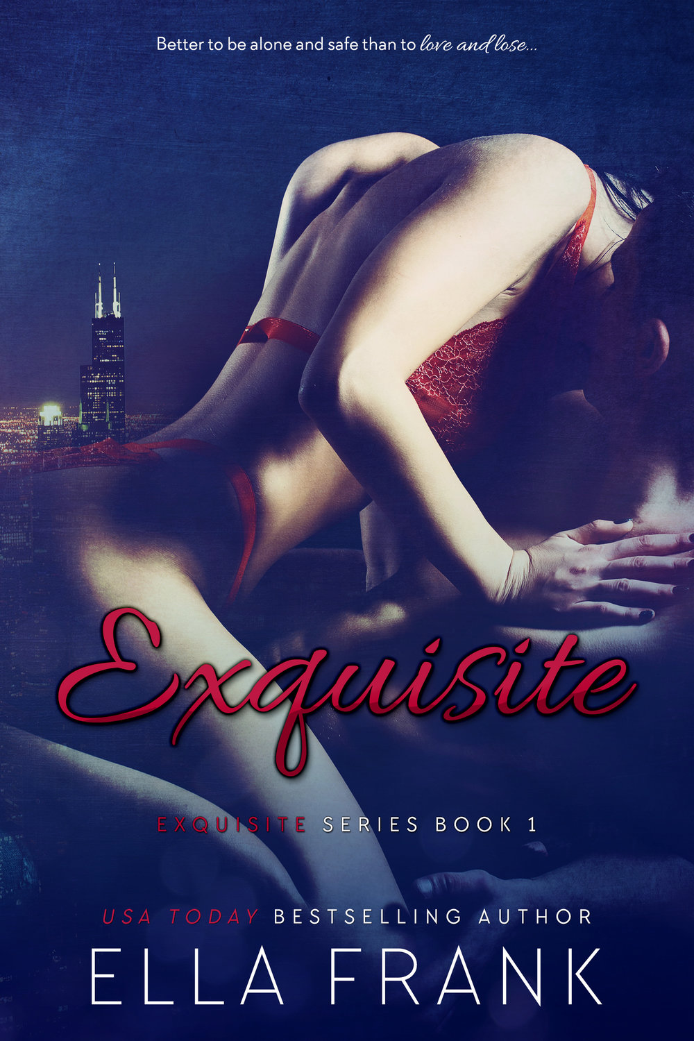 Exquisite     Her heart was guarded…    Tormented by self-imposed guilt, Dr. Lena O'Donnell has spent the last nine years in survival mode. Struggling through days that seem to blend together and battling her way through each horrifying night, she's determined that this is what she deserves…    Until he tore down the walls…    Mason Langley's life is going exactly the way he planned it, until her. A confirmed bachelor and the successful owner of the hottest restaurant to hit Chicago, he never expects to be blindsided by an angry woman in a pair of scrubs. No matter how hard he tries, he can't seem to shake the doctor, and he finds himself liking the way she makes him feel.    Almost overnight Lena finds her world turned upside down by Mason and the sexual desire they discover together. Slowly, she lowers her guard and invites him inside but when tragedy strikes she begins to believe that sometimes it's better to be alone and safe than to love and lose.    Read Exquisite for FREE TODAY!      AMAZON US  ~ Add to  GoodReads