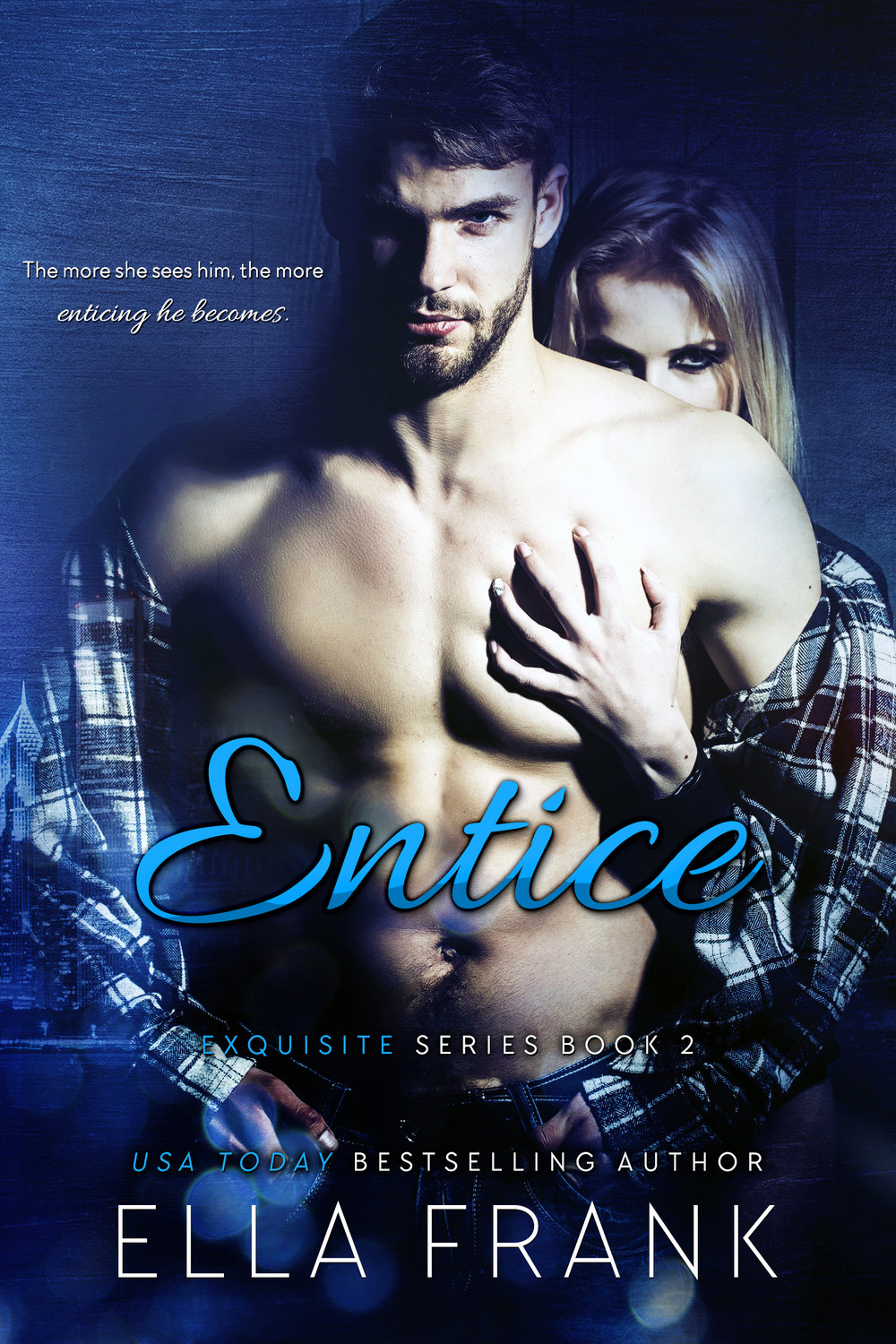 Entice     What if everything you think you want isn't what you actually need...    Dr. Shelly Monroe is a woman who doesn't shy away from going after what she wants, but lately good sex has been hard to find. Shelly's become increasingly frustrated with the men she's been dating and the men she believes are the right choice.    Joshua Daniels is certainly not even close to the right choice. In fact he is exactly the wrong choice. For one thing, he's Mason Langley's best friend and best man. Second he's too much of a risky complication for Shelly to even consider.    Then why can't she stop thinking about how delicious he looked that first night she met him at Exquisite? Why is it so imperative to keep her lusty desire for a man that doesn't meet her preconceived mold hidden from Lena and Mason, her trusted friends?    It seems unreasonable that being with a man completely wrong in theory could somehow feel so right. Then why is it the more she sees him the more enticing he becomes?     AMAZON US  ~ Add to  GoodReads