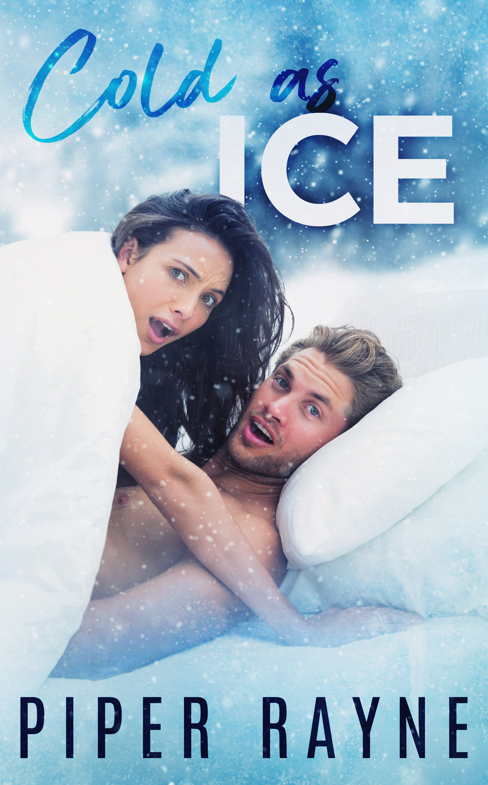 Cold As Ice, the first in an all-new romantic series of standalones from bestselling authors Piper Rayne is LIVE!     It may be Winter Games, but the bedroom games are about to begin…    Competing in South Korea on the world stage is hard enough.    Having to spend the entire press tour beforehand with a woman who hates me?     Karma really is a bitch.    While she's spent the last four years loathing me, I've spent them ignoring the guilt that gnaws at my stomach.     All Mia Salter cares about is that I'm her brother's ex-best friend and it's her duty to hate me. The funny thing is, I barely noticed her back when she was trying to keep up with us on the slopes. Now, as both of us prepare to go for gold, I'm seeing her in a whole different light—and it involves a whole lotta different positions.     No one said the path to the Olympics would be easy.