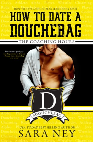 THERE ARE NO DOUCHEBAGS IN THIS STORY.    Well, there are, but they're not who this story is about.    This story is about me—the coach's daughter.    When I moved to Iowa to live with my dad, the university's take-no-prisoners wrestling coach, I thought transferring would be easy as pie—living with my father would be temporary, and he'd make sure his douchebag wrestlers left me alone.    Wrong on both counts.    ASSHOLES ALWAYS COME OUT OF THE WOODWORK WHEN THE STAKES ARE HIGH.    A bet is placed, and I'm on the table. After one humiliating night and too much alcohol, I find the last nice guy on campus. And when he offers to rent me his spare bedroom, I go all in. It's time for the nice guy to finish first.    Midnight chats and spilling my problems turn to lingering touches. Lingering touches turn to more.    And the ultimate good guy has the potential do more damage than any douchebags ever could.     GOODREADS  ~    AMAZON US  ~   AMAZON UK  ~    AMAZON AU