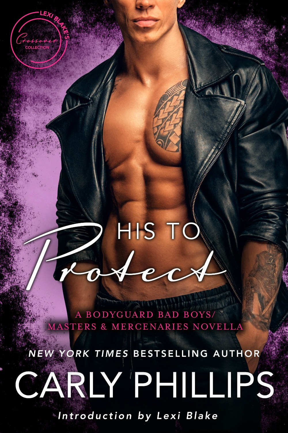 His to Protect: A Bachelor Bad Boys/Masters and Mercenaries Novella by Carly Phillips:   Talia Shaw has spent her adult life working as a scientist for a big pharmaceutical company. She's focused on saving lives, not living life. When her lab is broken into and it's clear someone is after the top secret formula she's working on, she turns to the one man she can trust. The same irresistible man she turned away years earlier because she was too young and naive to believe a sexy guy like Shane Landon could want her.    Shane Landon's bodyguard work for McKay-Taggart is the one thing that brings him satisfaction in his life. Relationships come in second to the job. Always. Then little brainiac Talia Shaw shows up in his backyard, frightened and on the run, and his world is turned upside down. And not just because she's found him naked in his outdoor shower, either.    With Talia's life in danger, Shane has to get her out of town and to her eccentric, hermit mentor who has the final piece of the formula she's been working on, while keeping her safe from the men who are after her. Guarding Talia's body certainly isn't any hardship, but he never expects to fall hard and fast for his best friend's little sister and the only woman who's ever really gotten under his skin.    Amazon:   http://amzn.to/2qDNKb5   B&N:  http://bit.ly/2CsEJ9x  iBooks:    https://apple.co/2GC5MWA  Kobo:  http://bit.ly/2HrcNXp  Google Play:  http://bit.ly/2hEcNtV