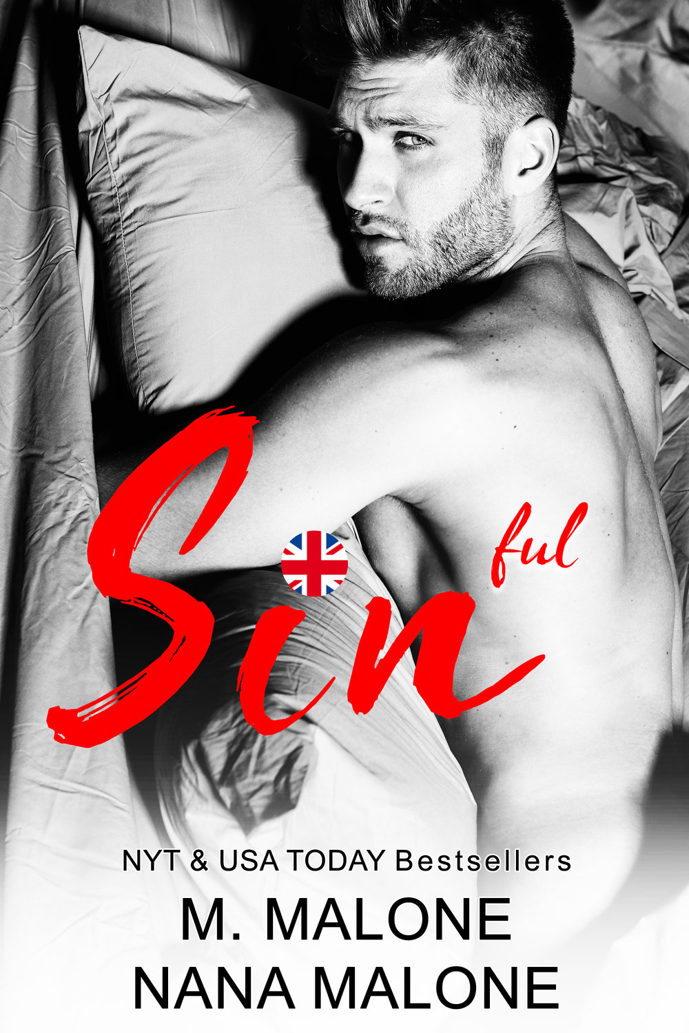Sinful releases on JUNE 19th! ADD TO YOUR TBR →  http://bit.ly/2Ka5G6Z   Leave it to me to finally learn how to drive stick…with a woman who's nothing but trouble.  Protecting people is what I do. But with Gemma everything is different. There was a time when she was my everything and I would have given my life to protect her.  Now she's back and this time I won't fail her. I'm ready to put it all on the line to keep her safe.  My past finally caught up with me and I had to make a choice. Leave or destroy my family. I'll do anything to keep them safe…including walk into enemy territory.