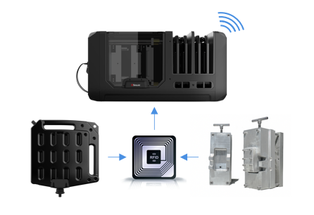 T1 Desktop Injection Molding Machine Connected Platform
