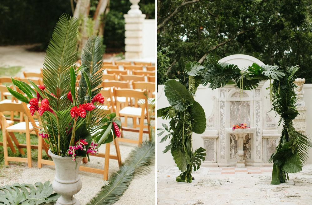 Heather + Gregu0027s Wedding At The Bonnet House Ft Lauderdale46