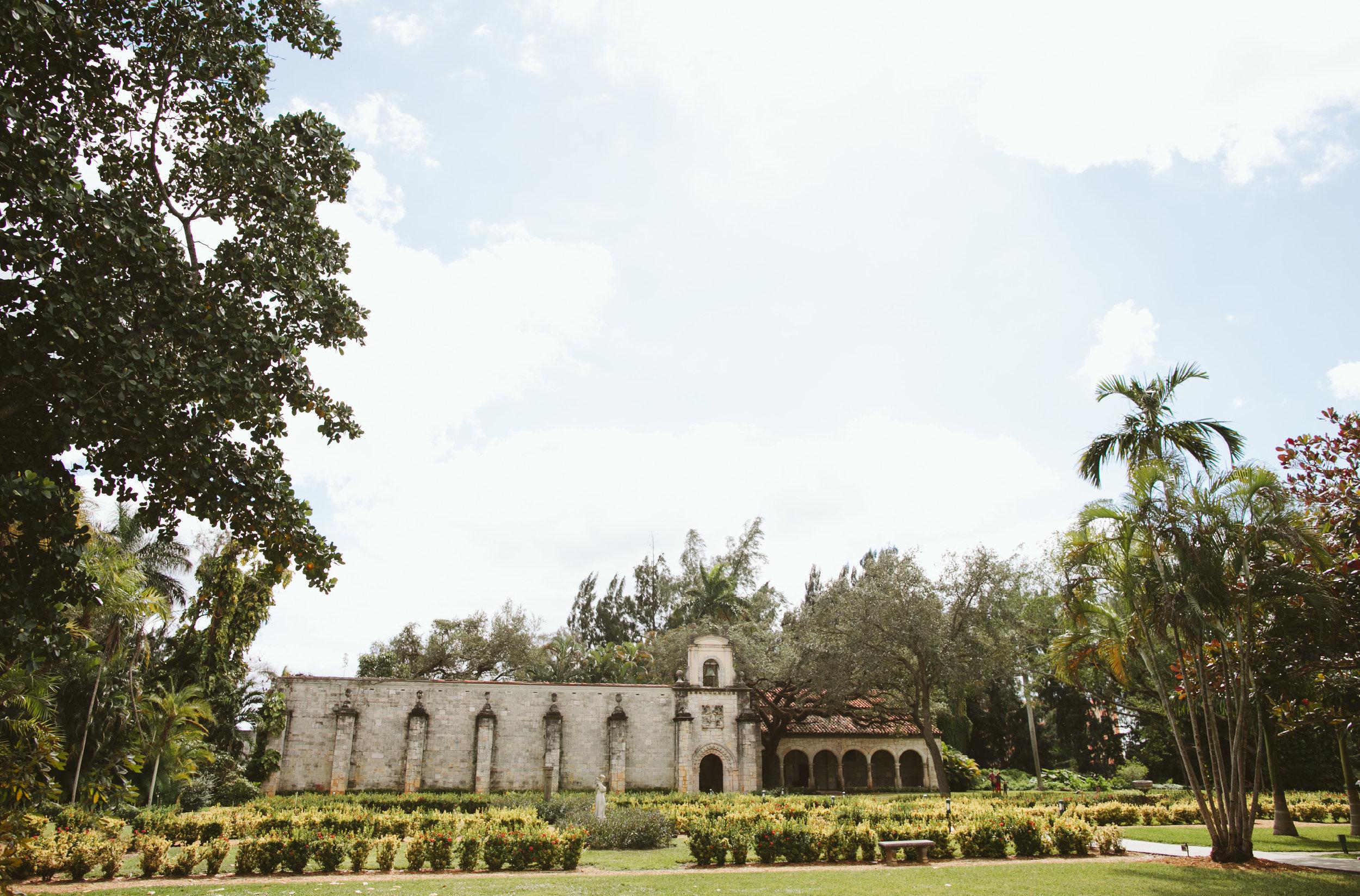 Carina Davids Spanish Monastery Wedding In Miami2