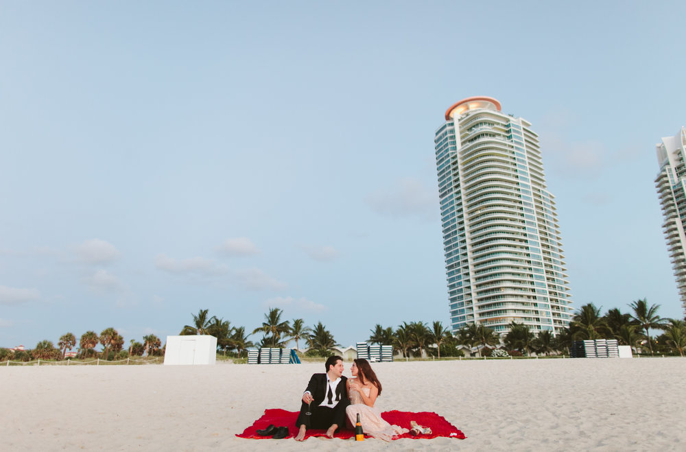 Meli + Mike South Pointe Park South Beach Miami Engagement Shoot12.jpg