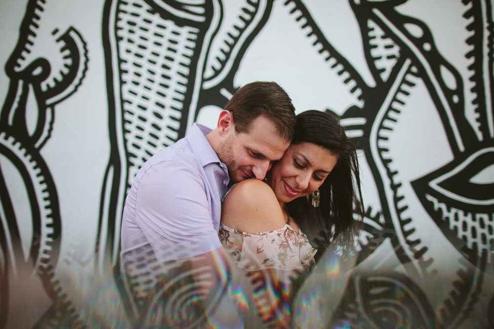 Wynwood Engagement in Miami