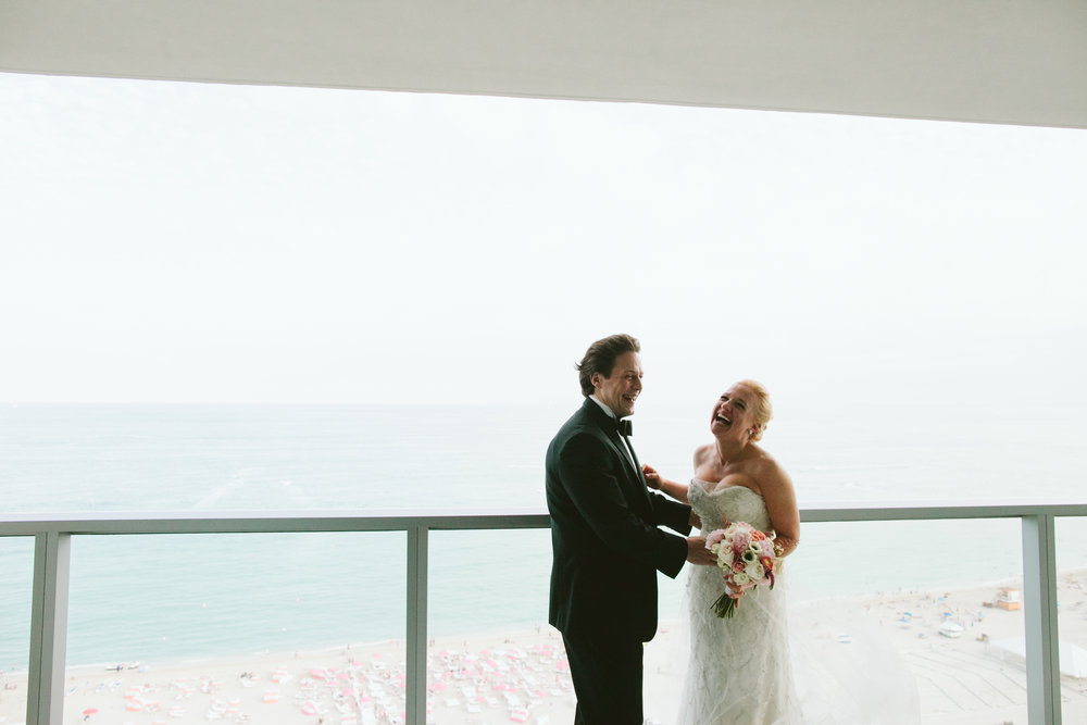 Wedding at the W South Beach Miami