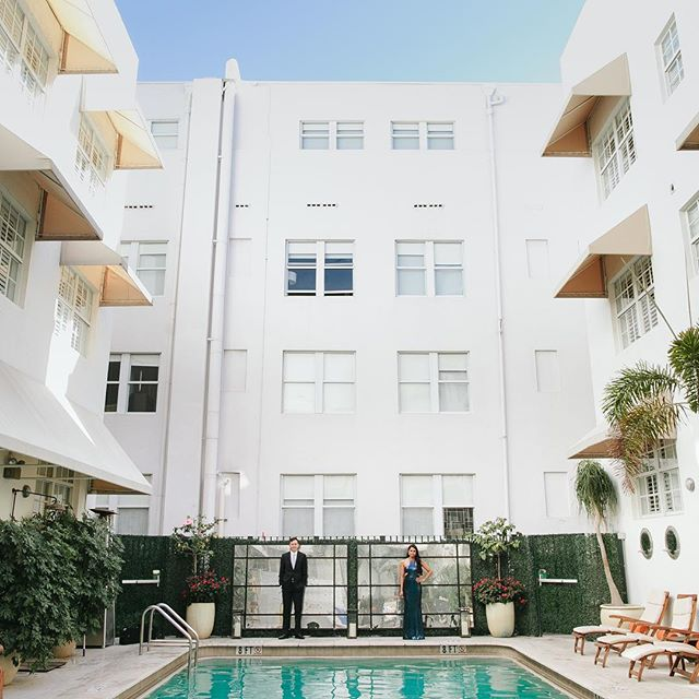 I've been told when I shoot I have a thing for symmetry and lines……and empty pools. Blog post is up, link in profile! . . . . .  #seeingthelines  #symmetry  #betsyhotelengagement #miamiengagement  #miamiengagementphotography #miamiengagementphotographer  #miamiphotographers  #newlyengaged  #southfloridaengagement  #southbeachengagement  #createingart  #architecture  #lines  #swimmingpool