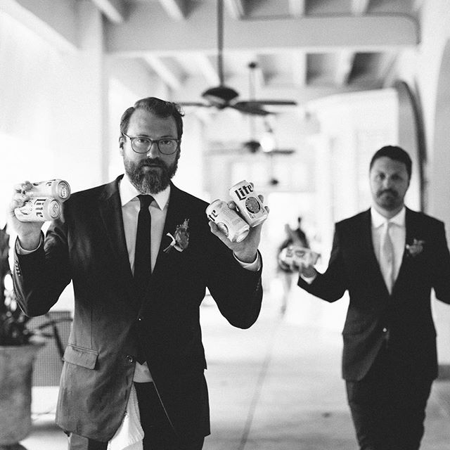 Always stay well hydrated on your wedding day! . . . . .  #fortlauderdaleweddingphotographer  #fortlauderdalewedding  #miamiweddingphotographer  #bahamasweddingphotographer  #southfloridaweddingphotographer  #tropicalwedding  #destinationwedding  #destinationweddingphotographer  #bonnethouse  #bonnethousewedding  #bonnethouseweddingphotographer  #justmarried  #radlovestories  #authenticlove  #ido  #weddinginspo  #weddinginspiration  #weddingphoto  #weddingphotography  #smp  #smpweddings  #groomsmen  #getlit  #lookslikefilm  #realweddings  #realweddingphotos  #bts  #btsweddings  #theboys
