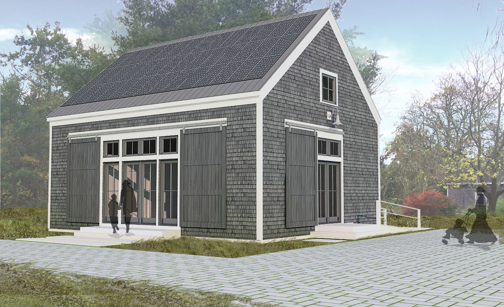 APCC Net Zero Barn Rendering