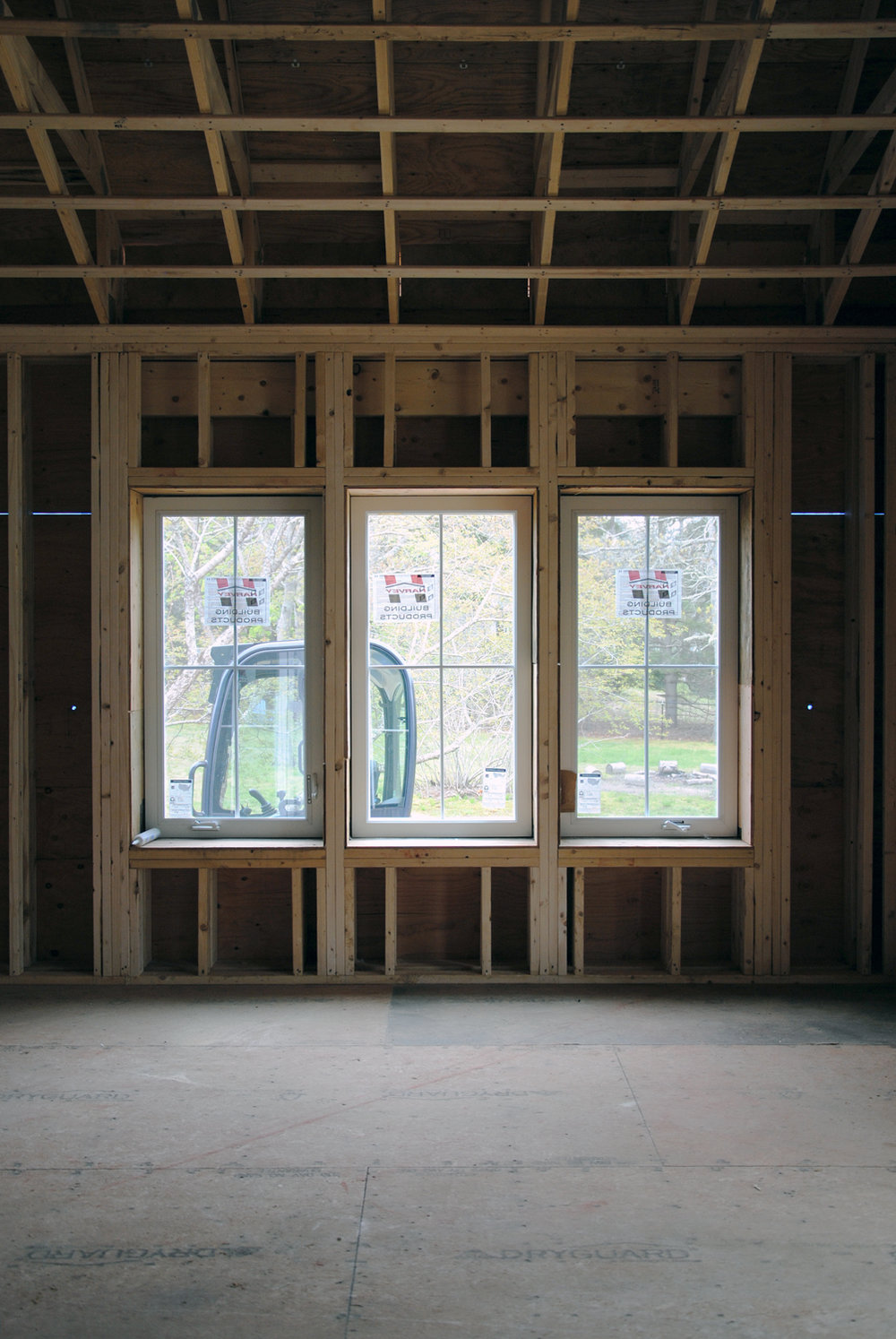 Triple Glazed Windows & framed Double Wall