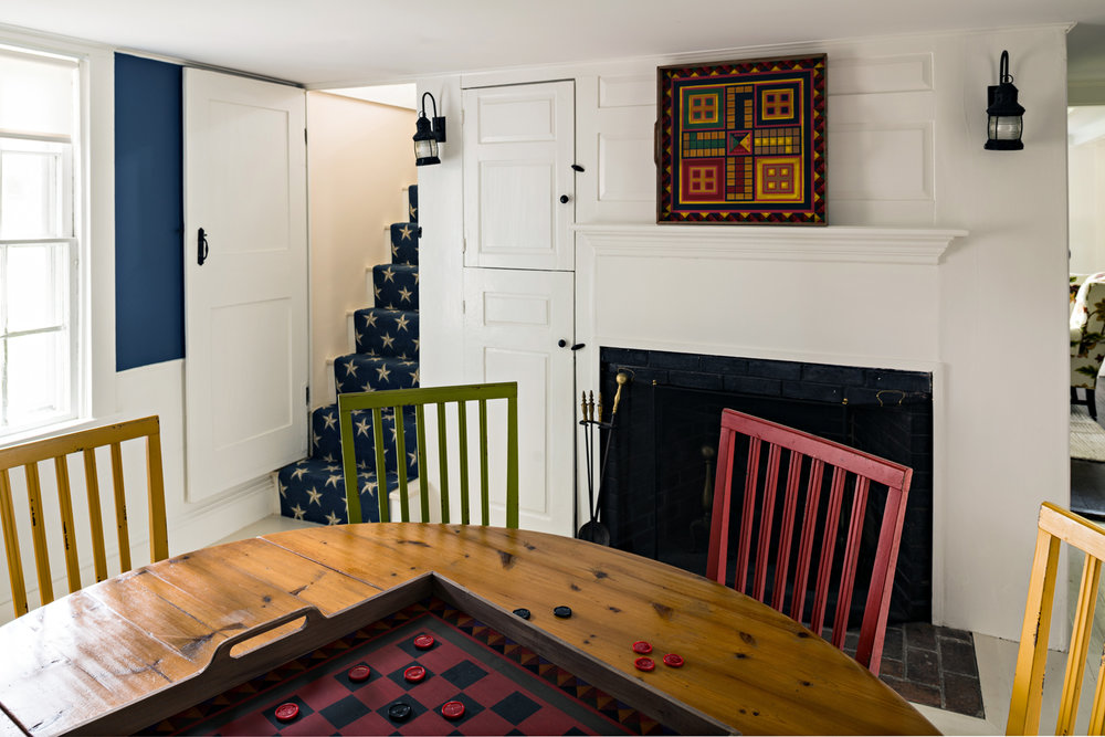 Game room/Dining room after renovation