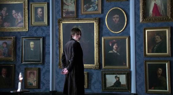 Dorian Gray in his ballroom in Penny Dreadful.