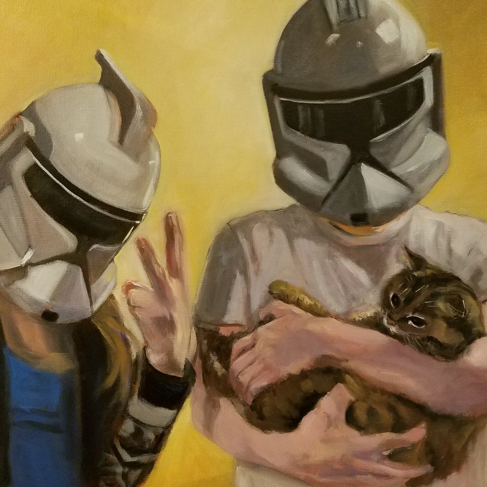 Storm Troopers Love Cats Too