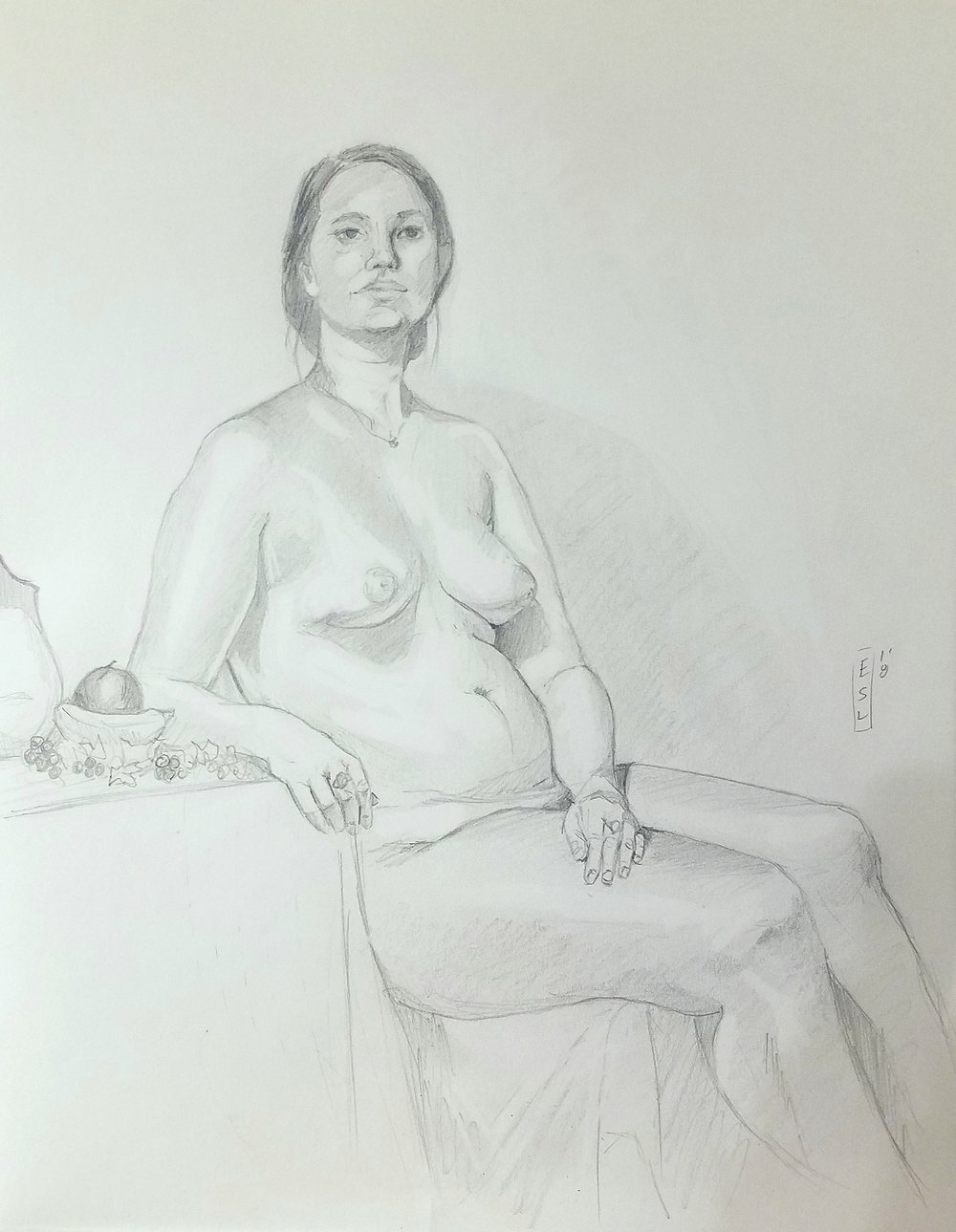 May 11th, 2018 figure drawing