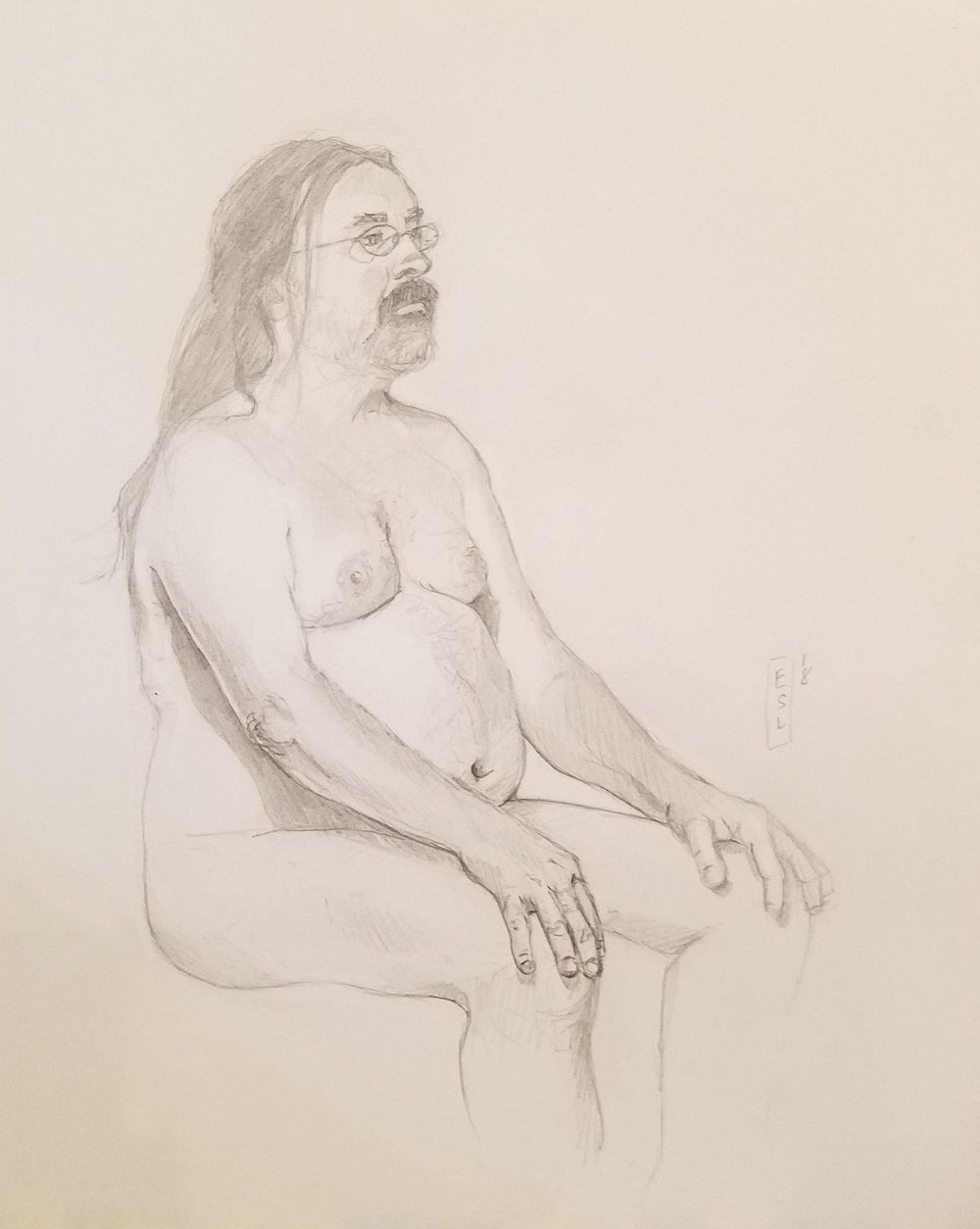 August 13th, 2018 figure drawing
