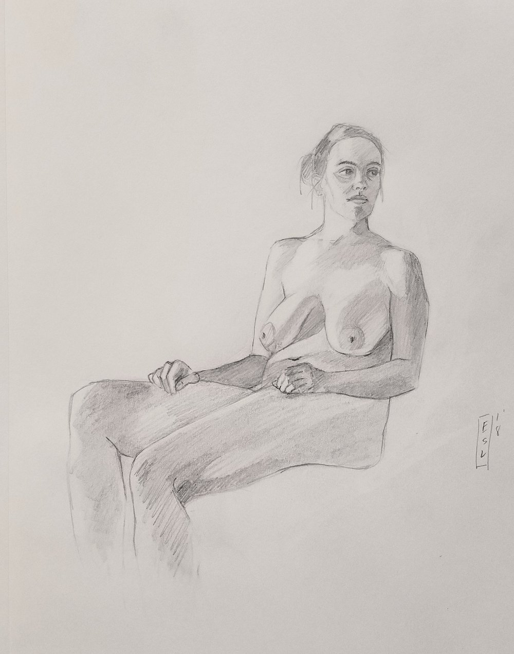 October 1st, 2018 figure drawing