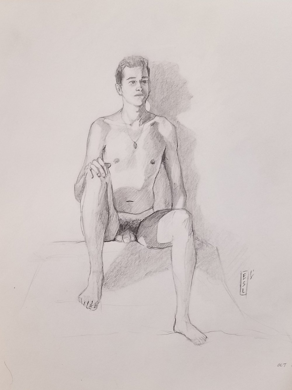 October 25th, 2018 figure drawing
