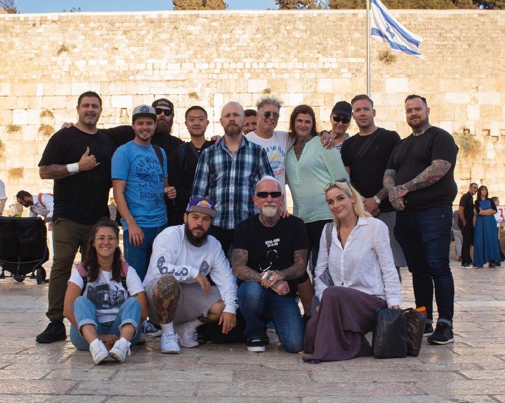 Healing Ink Israel - Jerusalem Museum of ArtOctober 2017