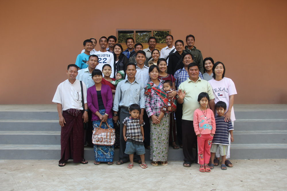 Our team of church planters throughout Myanmar