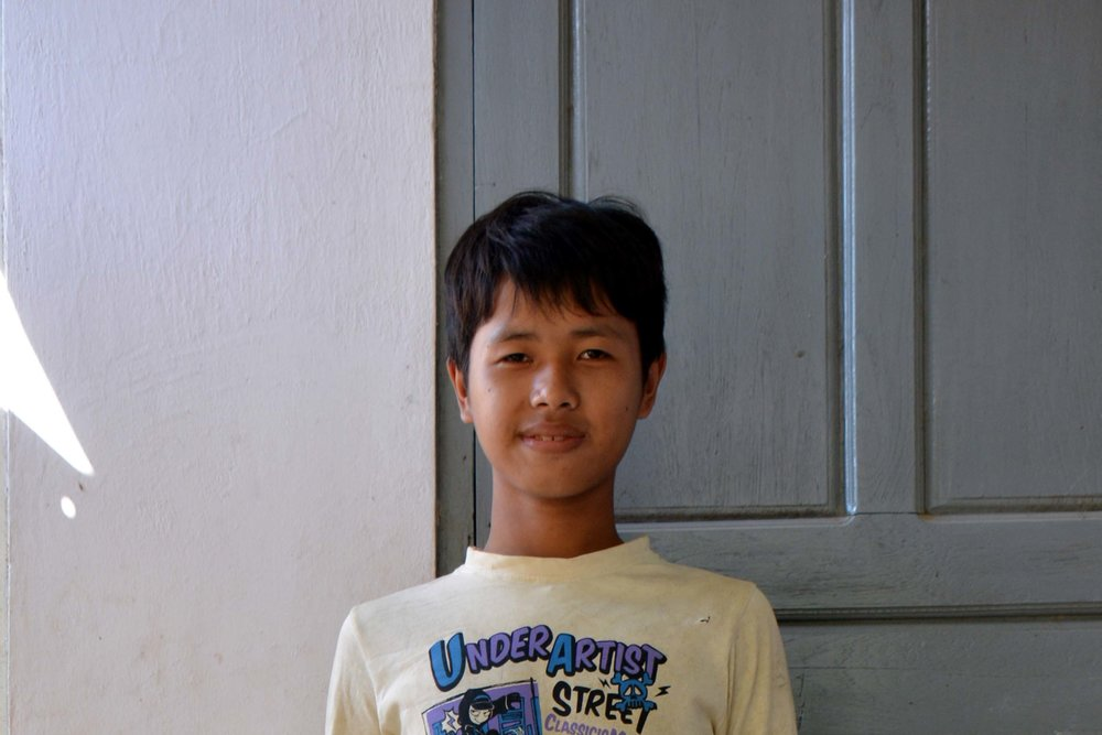 CHILD'S NAME : Kyaw San Phon CHILD'S NUMBER: 2097 CHILD'S ORPHANAGE: Win CHILD'S BIRTHDAY:   8/3/2002