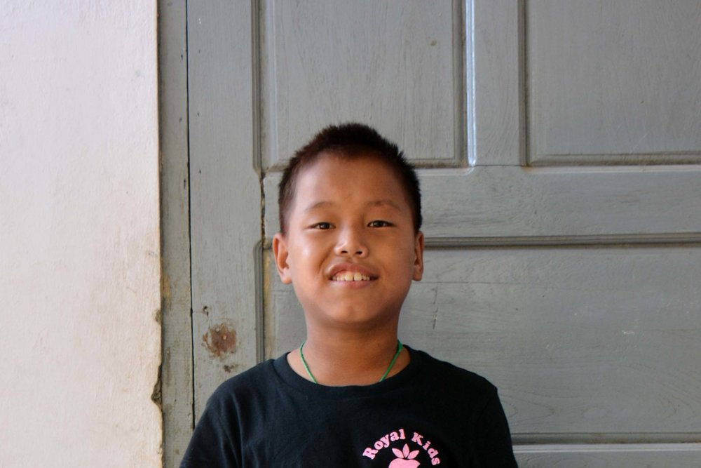 CHILD'S NAME : Ze Zawng CHILD'S NUMBER: 2098 CHILD'S ORPHANAGE: Win CHILD'S BIRTHDAY:  10/21/2004