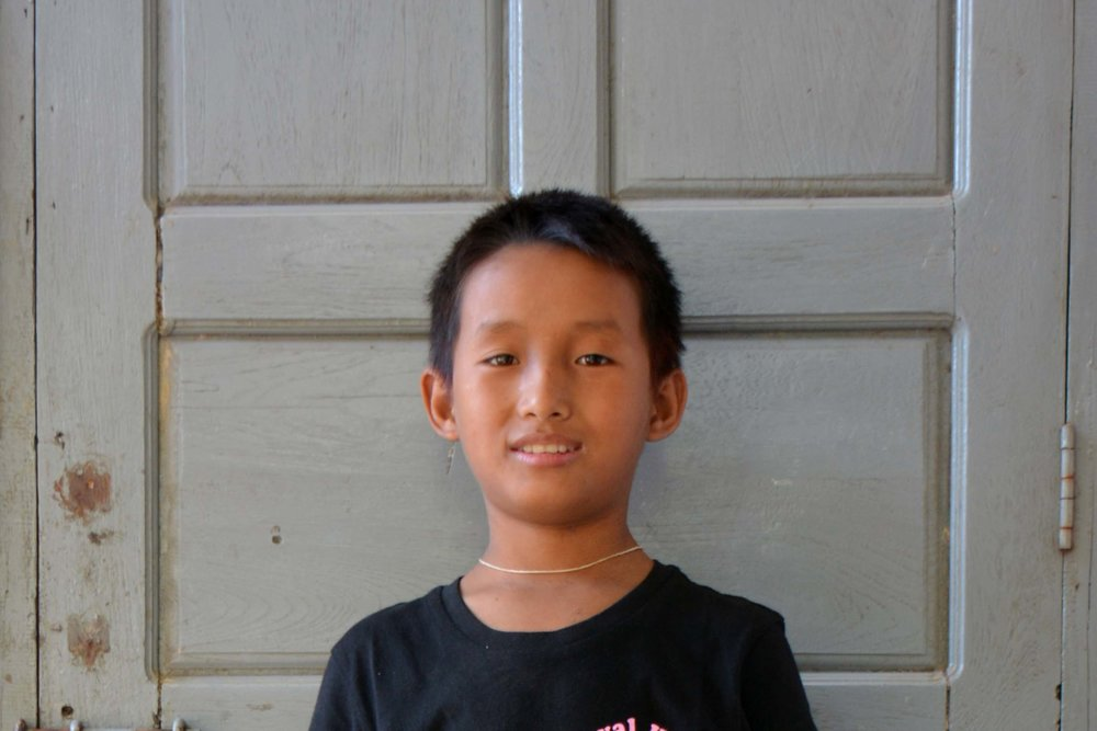 CHILD'S NAME : Do Aung CHILD'S NUMBER: 2100 CHILD'S ORPHANAGE: Win CHILD'S BIRTHDAY:  4/26/2004