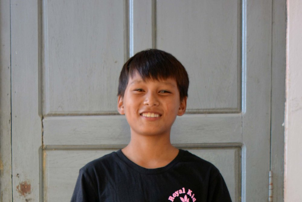 CHILD'S NAME : Bran San Aung CHILD'S NUMBER: 2102 CHILD'S ORPHANAGE: Win CHILD'S BIRTHDAY:  6/15/2004