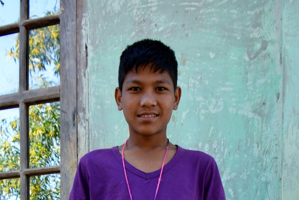 CHILD'S NAME : Kyaw San Win CHILD'S NUMBER: 4036 CHILD'S ORPHANAGE: Calvary CHILD'S BIRTHDAY:  9/11/2006