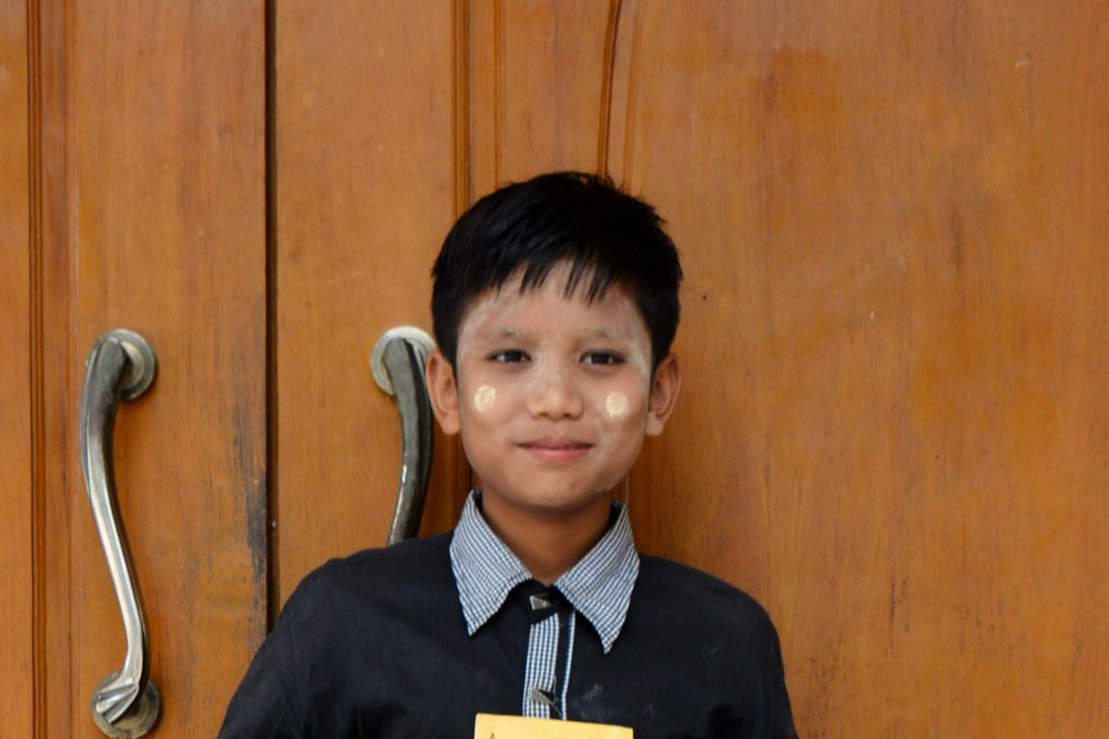 CHILD'S NAME : Aung Nay Lin CHILD'S NUMBER: 3067 CHILD'S ORPHANAGE: Immanuel CHILD'S BIRTHDAY:  12/3/2004