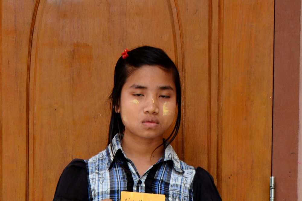 CHILD'S NAME : Nwe Nwe Hlaing  CHILD'S NUMBER: 3066 CHILD'S ORPHANAGE: Immanuel CHILD'S BIRTHDAY:  12/3/2004