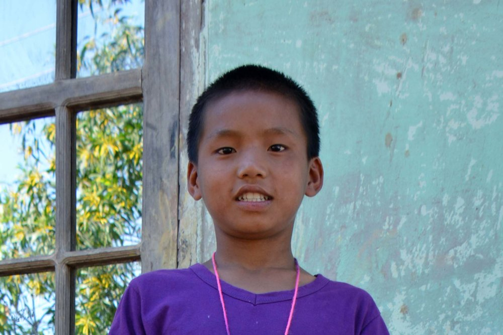 CHILD'S NAME : Myo Tun CHILD'S NUMBER: 4062 CHILD'S ORPHANAGE: Calvary CHILD'S BIRTHDAY:   9/26/2007