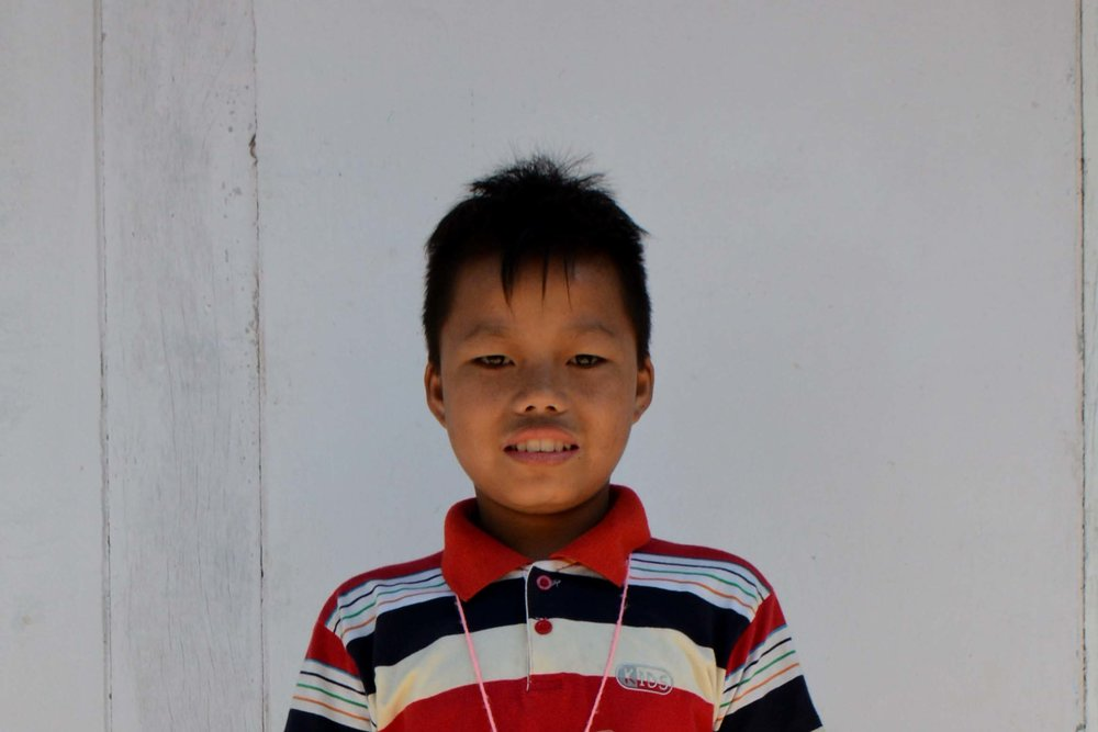 CHILD'S NAME : Lal Van Bawi Thawng CHILD'S NUMBER: 5076 CHILD'S ORPHANAGE: Grace CHILD'S BIRTHDAY:  4/18/2003