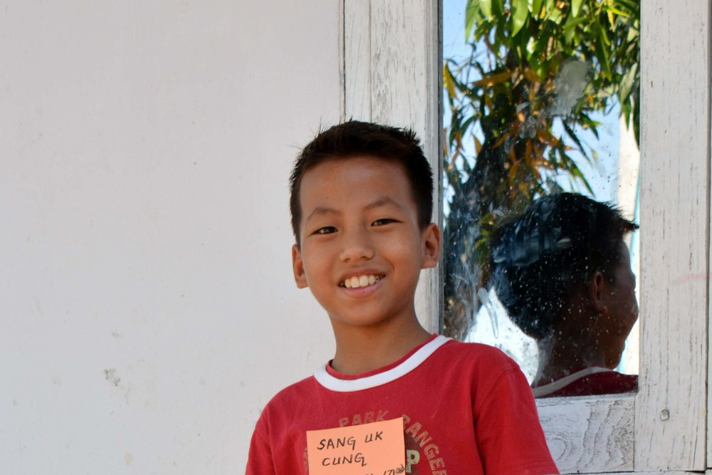 CHILD'S NAME : Sang Uk Cung CHILD'S NUMBER: 6051 CHILD'S ORPHANAGE: Zion CHILD'S BIRTHDAY:   10/24/2005