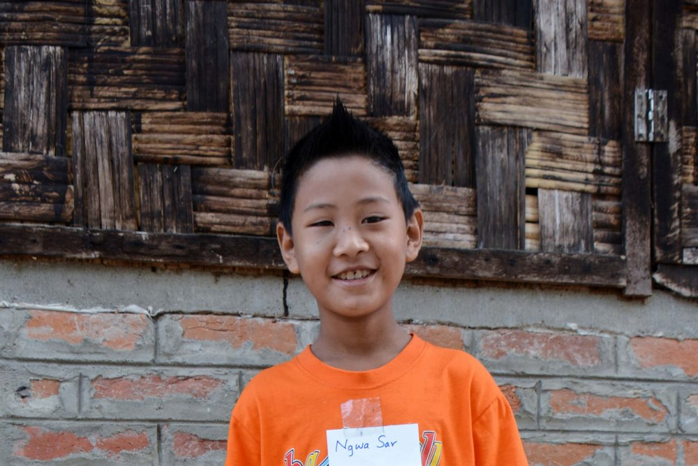 CHILD'S NAME : Ngwa Sar CHILD'S NUMBER: 8062 CHILD'S ORPHANAGE: Living Hope CHILD'S BIRTHDAY:   10/27/2006