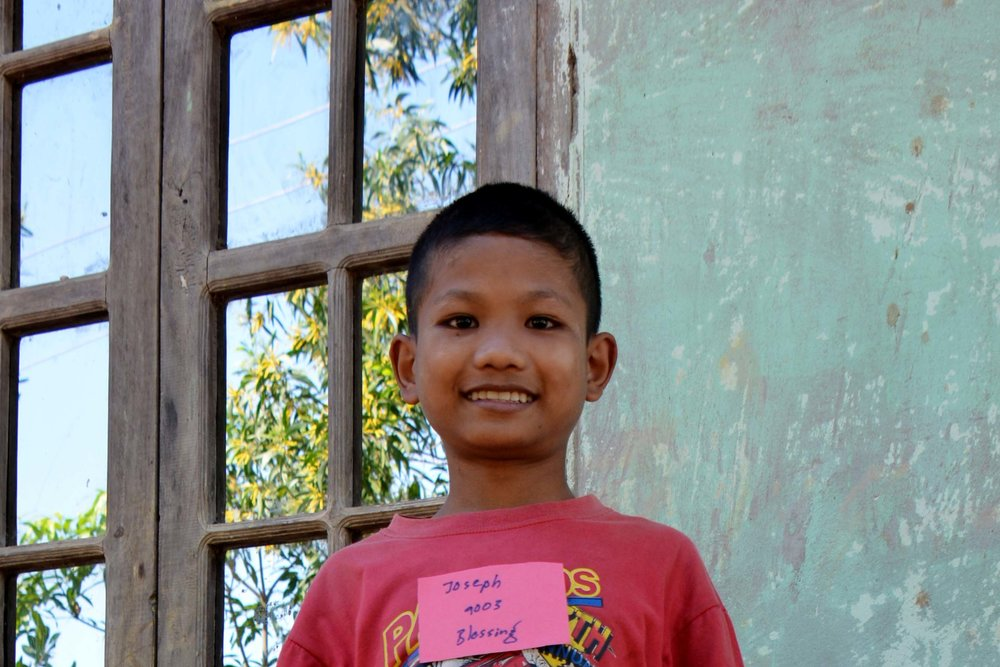 CHILD'S NAME: Joseph CHILD'S NUMBER: 9003 CHILD'S ORPHANAGE: Blessing CHILD'S BIRTHDAY:   9/12/2006